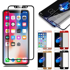 iPhone 6/ 7/ 8/ X 3D Full Coverage Tempered Glass Screen Protector HD Cover Film