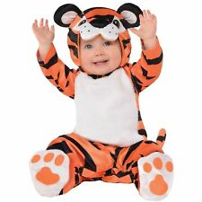 Baby Toddler Tiny Tiger Book Week Fancy Dress Costume Outfit Jungle Zoo