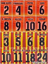 Barcelona Away 2012-13 and 2013-14 Name Set number SportingID Player Issue Messi