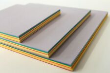 ORIGAMI PAPER. 100 SMOOTH 80gsm DOUBLE SIDED SINGLE OR ASSORTED COLOURED SHEETS.