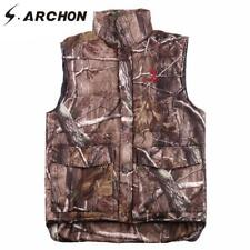 Men Tactical Vests Camouflage Cotton Padded Sleeveless Male Jacket Thicken Coat