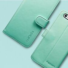 Genuine Spigen Leather Stand Wallet S Foldable Case Cover for iPhone 6 6s