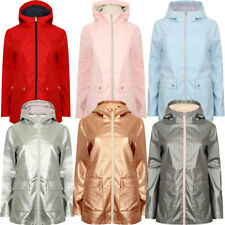 New Womens Tokyo Laundry Seagull Lightweight Hooded Zip Up Jacket Size 8 - 16