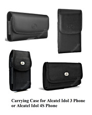 "Pouch for Alcatel Idol 3 or Idol 4S (5.5"") phone with a protective cas"