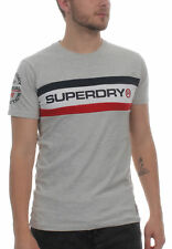 Superdry Camiseta de hombre TROPHY Chest Band Tee Superdry Stadium Gris grindle
