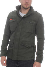 SuperDry GIACCA UOMO CLASSIC ROOKIE Military Military Cachi