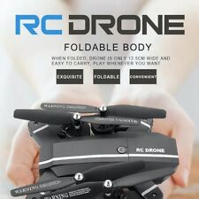 Drone RC Helicopter Altitude Hold Foldable Selfie With Camera HD WIFI Quadcopter
