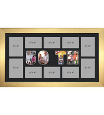 50TH Photo Frame Personalised Name Frames | Black Mount