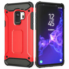 Heavy Duty Tough Hard Shockproof Cover Case For Samsung Galaxy S9 & S9 Plus