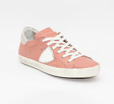 PHILIPPE MODEL scarpe donna CLLD MW02 CLASSIC METALLIC PINK/CHALK