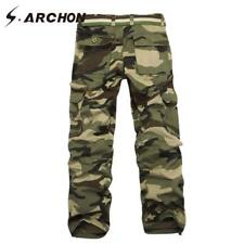 Men Tactical Pants Military Style Camouflage Cargo SWAT Combat Army Casual Pants