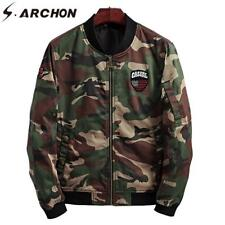 Men Tactical Jackets Military Camouflage Casual Cotton Pocket Army Camo Clothes