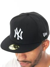 Casquette ajustée New Era League Basic 59Fifty New York Yankees Noir-Blanc