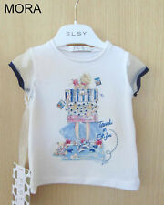 Elsy Fille T-Shirt pour Fille Mora Taille 110 / 5 Ans Neuf So 18 49,95