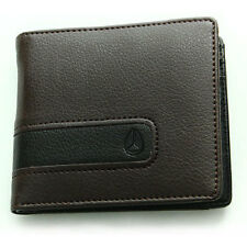 Nixon Surf Showtime Bi-fold Zip Mens Wallet/purse Wallet - Brown One Size