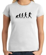 T-shirt Donna TBOXE0008 Boxing Evolution logo