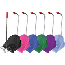 Stable Kit High Rake And Unisex Yard Manure Scoop - Purple One Size
