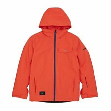 Quiksilver Mission Solid Jacket Snowboard - Mandarin Red All Sizes