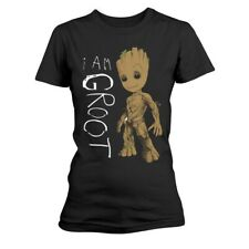 Ladies Guardians of the Galaxy 2 I Am Groot ufficiale Donne maglietta signore