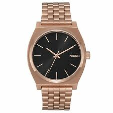 Nixon Time Teller Womens Watch - All Rose Gold Black Sunray One Size