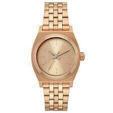 Nixon Medium Time Teller Womens Watch - All Rose Gold One Size