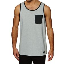 Dc Contra Mens Vest Tank - Grey Heather All Sizes