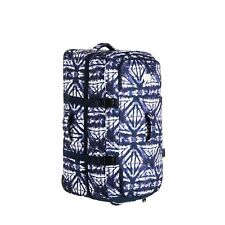 Roxy Long Haul Womens Luggage - Dress Blues Geometric Feeling One Size