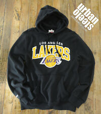 Sudadera con capucha Mitchell & Ness NBA Los Angeles Lakers logo hoodie hiphop L