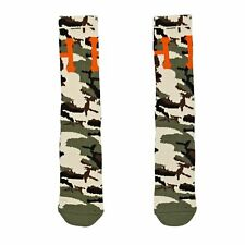 Huf Classic H Crew Mens Underwear Socks - Woodland Camo All Sizes