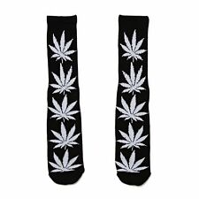 Huf Plantlife Crew Mens Underwear Socks - Black All Sizes
