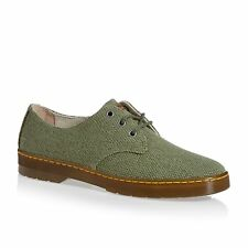 Dr Martens Delray Mens Footwear Shoe - Capulet Olive Millitary Heavy Canvas P54