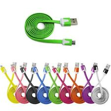 Micro Flat Noodle USB Data Charger Cable for Huawei P9 Lite P8 P8 Lite Mate S