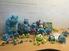 MONSTERS INC TOYS BUNDLE PLUSH SULLEY MIKE TALKING UNIVERSITY YOU CHOOSE