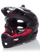 Casco Convertible MTB Bell 2018 Super 3R - MIPS Matt-Gloss Negro-Cherry