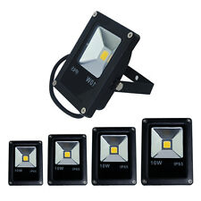 1/2/4x 10W LED Flood Security Light IP65 Outdoor Garden Lamp Wash Floodlight UK