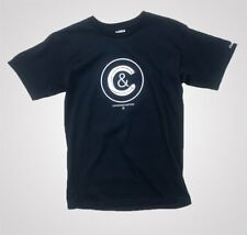 Mens Crooks and Castles Crusher Crewneck T-Shirt - Navy Blue - WAS £35