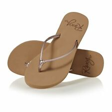 Roxy Lahaina Iii Femme Chaussures Tongs - Rose Gold Toutes Tailles