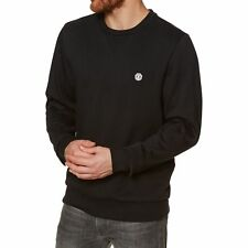 Element Cornell Classic Crew Homme Pull Sweater - Flint Black Toutes Tailles