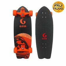 Surfskate  skateboard GLUTIER with T12 Trucks Pro Space Mirror O 29¨  surf skate
