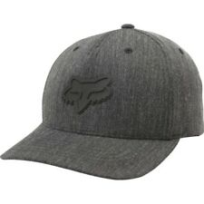 Fox Racing Heads Up 110 Snapback Homme Couvre-chefs Casquette - Heather Black