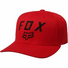 Fox Racing Legacy Moth 110 Snapback Homme Couvre-chefs Casquette - Dark Red