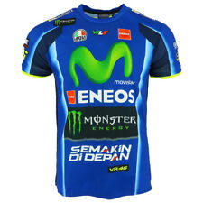 Valentino Rossi VR46 Moto GP M1 Yamaha Racing T-shirt Official 2018