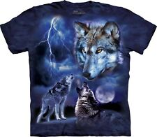 Mountain Maglietta Unisex Adulto Wolves Of The Storm Wolves