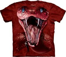 The Mountain Maglietta Red Mamba Snake Adulto Unisex