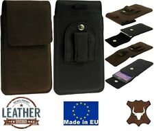 Flap Originale Custodia in pelle con Clip Cintura e Loop Cover per Iphone Apple