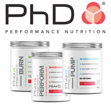 PhD Nutrition Ultra Strong Pre-Workout Burn Perform Pump - FAST FREE DELIVERY