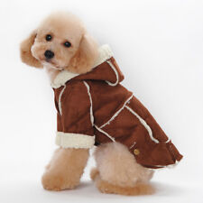 Lana Artificiale Calda Cane Animale Domestico Outwear Vestiti Cappotto per