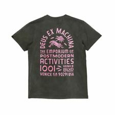 Deus Ex Machina Sunbleached Post Modern T-Shirt - Belluga Rose