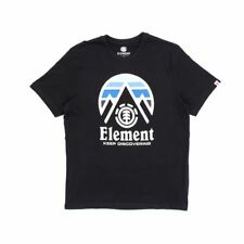 Element Cliff T-Shirt - Flint Black