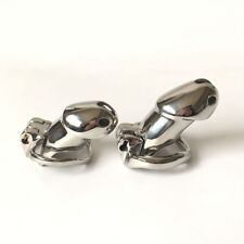 Male Chastity Cage Luxury Fine Stainless Steel Device Light Version SexyMonalisa